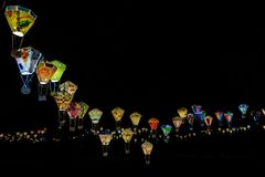 Festival de linterna en Taitung, Taiwán fotografía de archivo