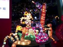 Festival de linterna tradicional chino Foto de archivo libre de regalías