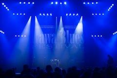 Festival 2014 de los azules de Rawa Imagenes de archivo
