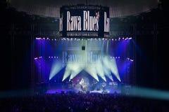 Festival 2014 de los azules de Rawa Imágenes de archivo libres de regalías