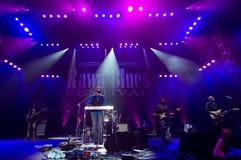 Festival 2014 de los azules de Rawa: Robert Randolph y la banda de la familia Foto de archivo