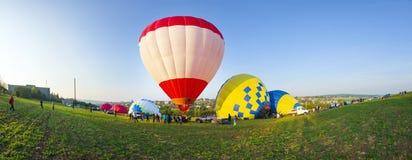 Festival de los balones de aire Foto de archivo libre de regalías