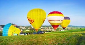 Festival de los balones de aire Imágenes de archivo libres de regalías