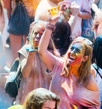 Festival de los colores Holi Royalty Free Stock Images