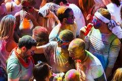 Festival de los colores Holi Stock Images