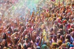 Festival de los colores Holi Royalty Free Stock Photography
