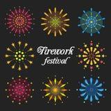 Festival de los fuegos artificiales Fotos de archivo libres de regalías