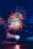 Festival 2017 de los fuegos artificiales Imagen de archivo