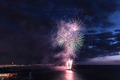 Festival 2017 de los fuegos artificiales Fotos de archivo libres de regalías