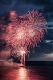 Festival 2017 de los fuegos artificiales Fotografía de archivo