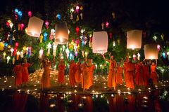 Festival de Loy Kratong Imagens de Stock