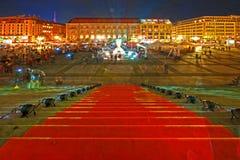 Festival de luces fotografía de archivo libre de regalías
