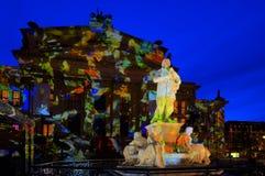 Festival de luces imagenes de archivo