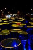 Festival de lumière, Berlin, Allemagne - Ernst Reuter Platz Image libre de droits