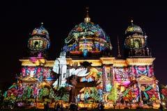 Festival de lumière, Berlin, Allemagne - les DOM de Berlinois Photo libre de droits