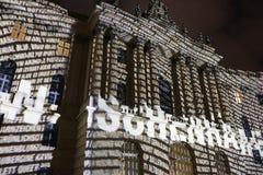 Festival de luzes Berlim Fotografia de Stock