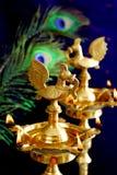 Festival de luzes (Deepavali) Foto de Stock