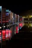 Festival de Lyon de las luces 2008 Fotos de archivo