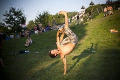 Festival de música Budapest de Sziget Hungria Fotos de Stock