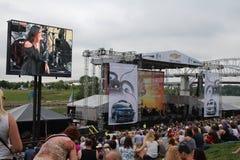 Festival de música country de Cma Imagen de archivo libre de regalías