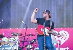 Festival de música de IHeartRadio Fotos de archivo