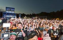 Festival de música del fin de semana del atlas en Kiev, Ucrania Fotos de archivo