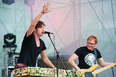 Festival de música en directo al aire libre de Bosco Fresh Fest Imágenes de archivo libres de regalías