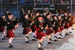 Festival de música militar Imágenes de archivo libres de regalías