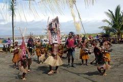 Festival de masque de danse traditionnelle Photo stock