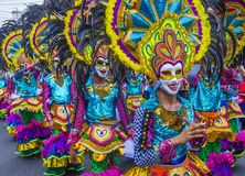 Festival 2018 de Masskara photo libre de droits