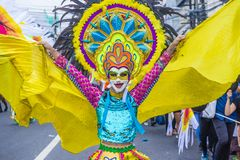 Festival 2018 de Masskara photo stock