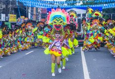 Festival 2018 de Masskara photos stock