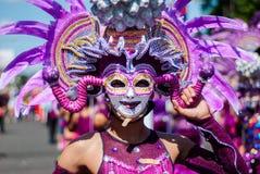 Festival de Masskara Ciudad de Bacolod, Filipinas fotografía de archivo libre de regalías