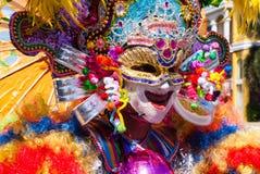 Festival de Masskara Ville de Bacolod, Philippines Photographie stock libre de droits
