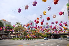 Festival de mediados de otoño de Chinatown Foto de archivo