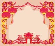 Festival de Mi-automne pendant la nouvelle année chinoise Image stock