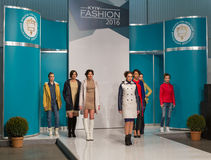 Festival 2016 de mode de Kyiv de mode à Kiev, Ukraine Photographie stock libre de droits