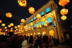 festival de mola de 2012 chineses em macau Imagens de Stock