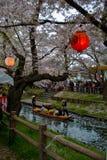 Festival de mola em Japão Fotografia de Stock