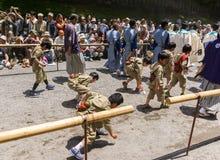 Festival de mola grande em Nikko, Japão Fotos de Stock Royalty Free