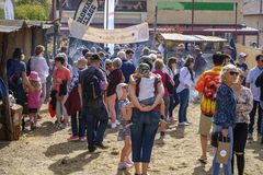 Festival de Moondyne fotografía de archivo libre de regalías