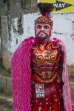 Festival 2018 de Moriones Image libre de droits