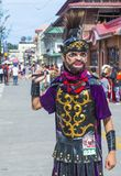 Festival 2018 de Moriones Photos libres de droits
