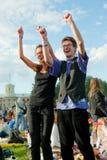Festival de música al aire libre Foto de archivo libre de regalías