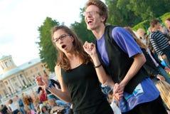 Festival de música al aire libre Imagen de archivo libre de regalías