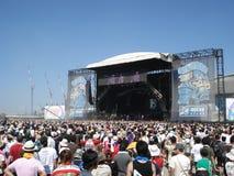 Festival de musique d'été Image libre de droits