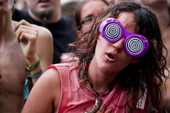 Festival de musique d'été de Sziget Budapest Hongrie Photo stock