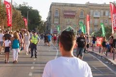 Festival de musique de MTV à Malte photographie stock libre de droits