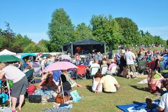 Festival de musique de Tentertainment 2015 Photos stock