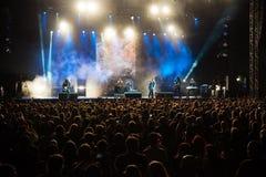 Festival de musique Topfest 2015, Piestany, Slovaquie Image libre de droits